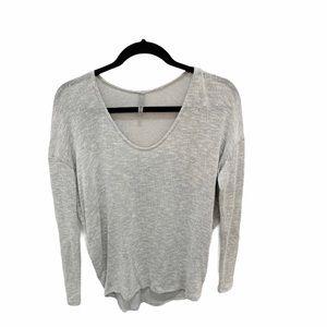 Jolie Silver Sweater, Size S